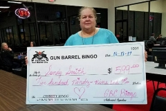 Gun Barrel Bingo winner!